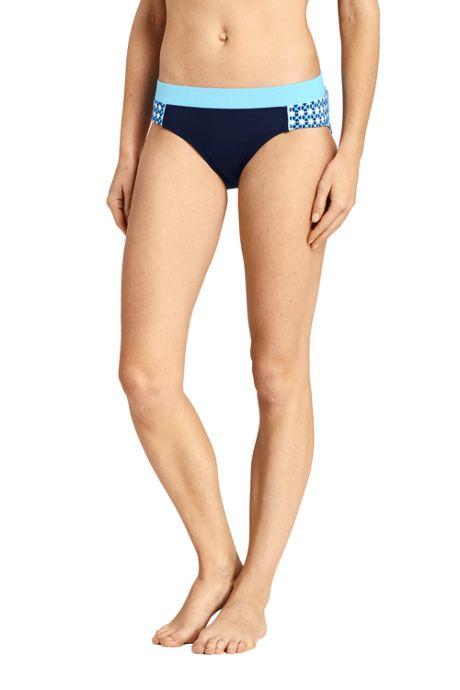 Women's Mid Waist Bikini Bottoms