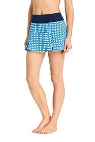 Women's Pleated Mini SwimMini Swim Skirt