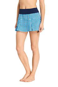 Women's Pleated Mini SwimMini Swim Skirt