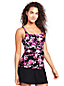 Women's Shape & Enhance Rose Print Tankini Top