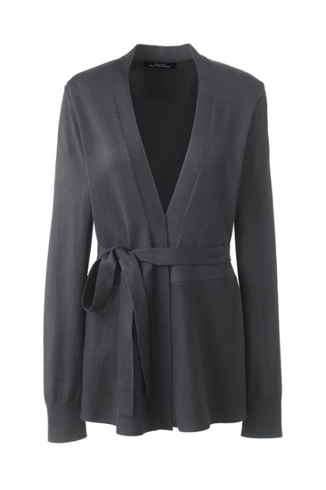 Women's Plus Size Performance Peplum Wrap Cardigan