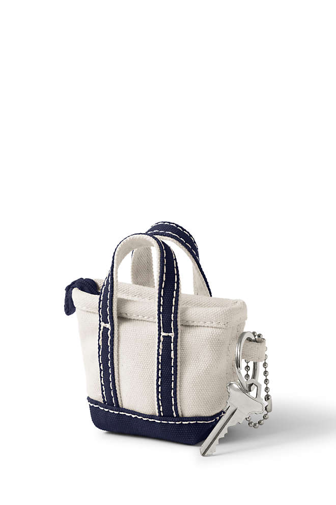 Canvas Tote Keychain, Front