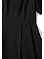レディス・美型シルエット・オールシーズンウール・身長別ドレス/ペティート/半袖