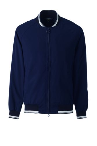 Men's Squall Varsity Jacket by Lands' End