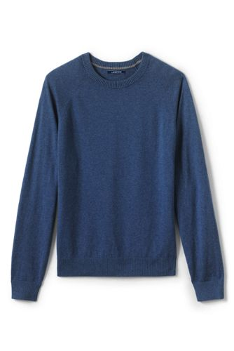 Men's Cotton/cashmere Crew Neck Jumper