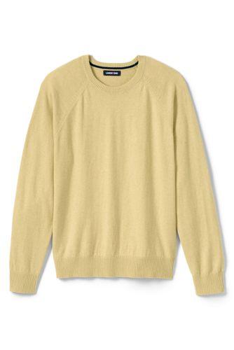 201d4124340b Men s Cotton Cashmere Crewneck Sweater from Lands  End