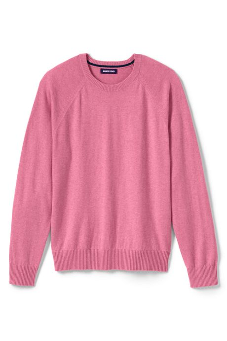 Men's Cotton Cashmere Crewneck Sweater