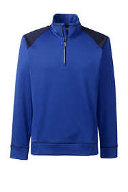 Men's Big Essential Quarter Zip Pullover