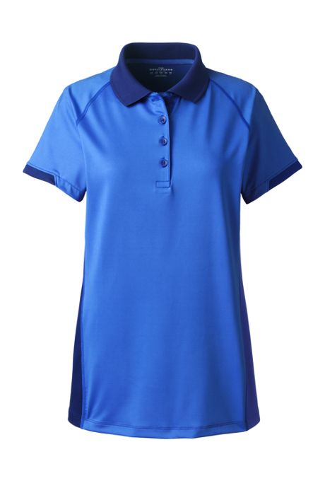 Women's Rapid Dri Tonal Block Polo Shirt