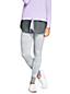 Gemusterte Feinstrick-Leggings aus Merino für Damen