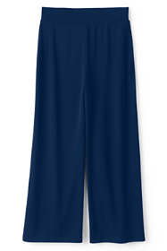 Women's Matte Jersey Wide Leg Crop Pants