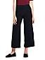 Women's Matte Jersey Wide Leg Crop Trousers