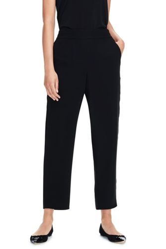 Women's Double Crepe Pull-on Trousers