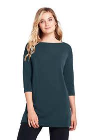 Women's 3/4 Sleeve Matte Jersey Tunic