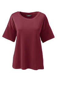 Women's Plus Size Matte Jersey T-shirt