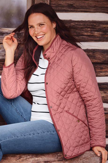 Women's Plus Size Supima Short Sleeve Stripe Sweater