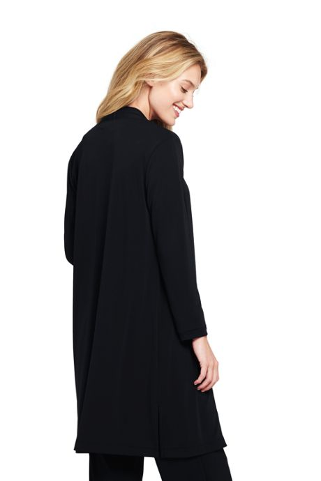 Women's Matte Jersey Cardigan