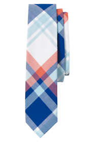 Boys Woven Plaid Necktie