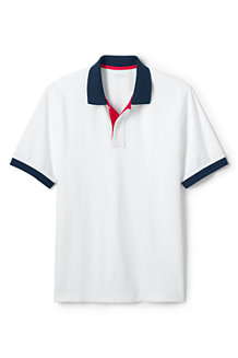 Men's Colourblocked Piqué Polo