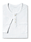 Men's Washed Jersey Henley T-shirt
