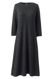 Women's Merino/Silk Fit 'n' Flare  Dress
