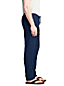 Men's Linen Trousers with Elastic Waist