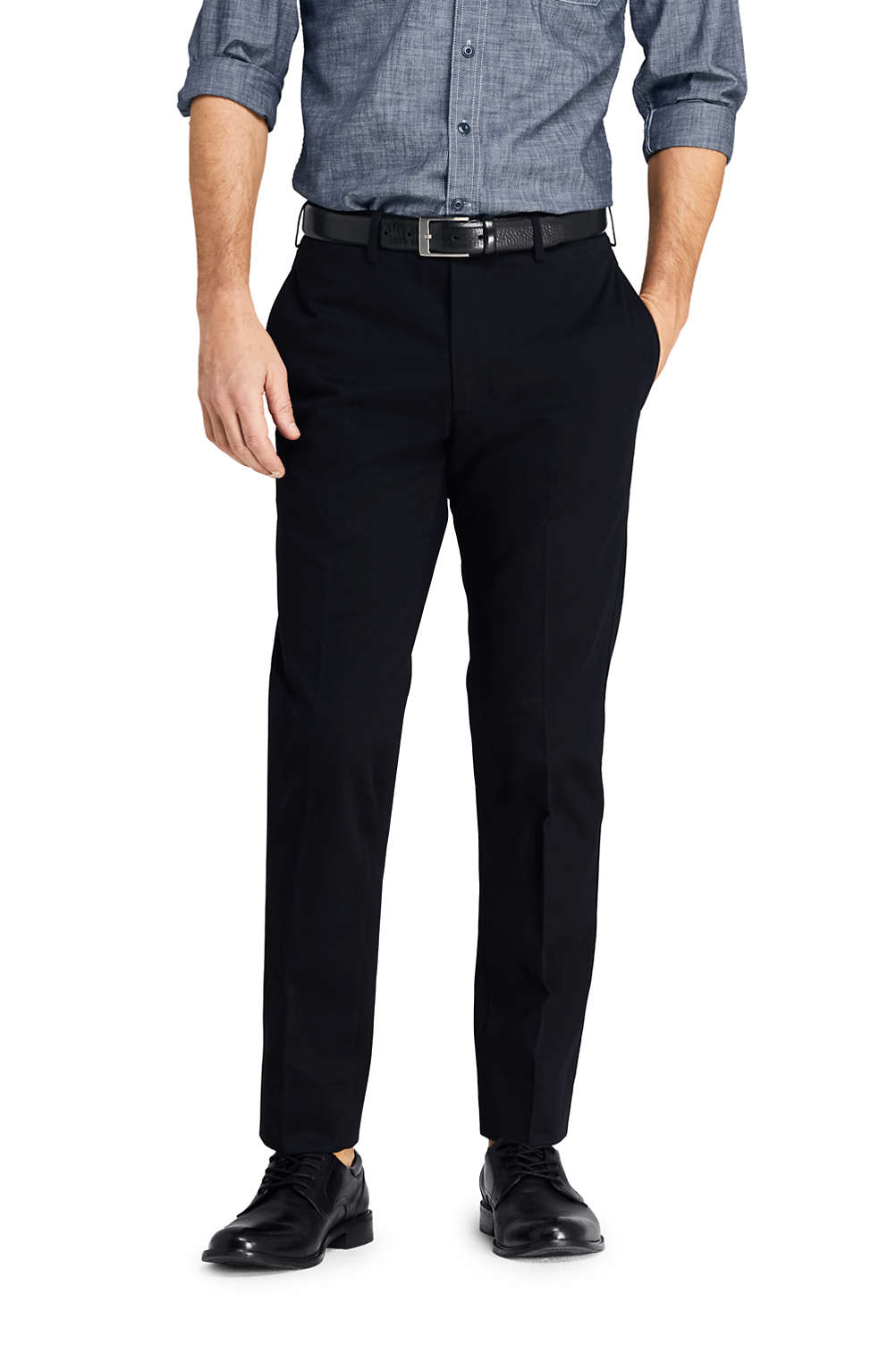 a51402f04feb0 Men's Slim Fit Plain Front No Iron Chino Pants from Lands' End