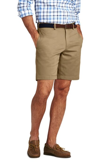 Men's Classic Fit Plain Front 9