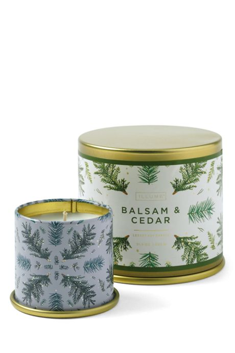 Balsam and Cedar Large Candle Tin