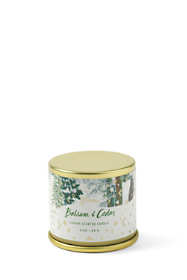 Balsam and Cedar Small Candle Tin
