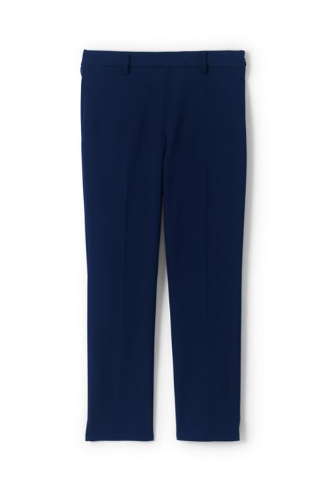 Women's Mid Rise Refined Pencil Crop Pants