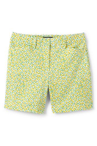 Women's  7'' Patterned Chino Shorts