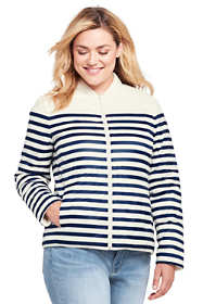 Women's Plus Size Ultra Light Reversible Down Jacket
