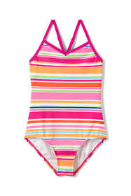 Girls Plus Smart Swim One Piece Swimsuit