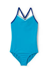 Little Girls Smart Swim One Piece Swimsuit