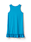 Little Girls' Ruffle Hem Swim Cover-up