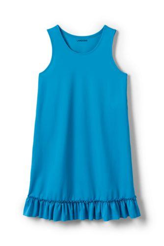 Badekleid für kleine Mädchen - Grün - 98/104 von Lands' End