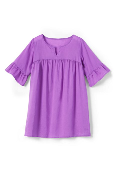Girls Woven Swim Cover-Up