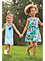 Toddler Girls' Vest Dress with Graphic Pocket