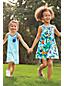La Robe Poche Graphique Dos Nageur en Jersey Stretch, Toute Petite Fille