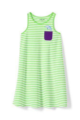 Toddler Girls' Vest Dress with Graphic Pocket