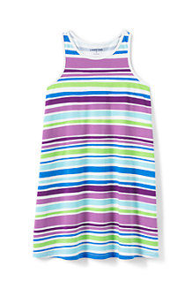 Girls' Vest Dress with Racer Back