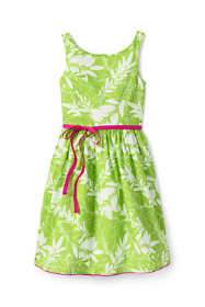Toddler Girls Ruffle Back Occasion Dress