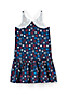 Little Girls' Print Strappy Sun Dress