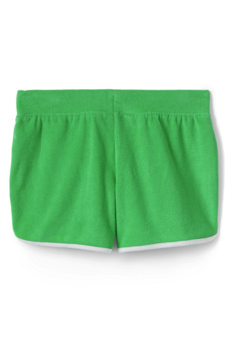 Girls Plus Curved Hem Knit Shorts