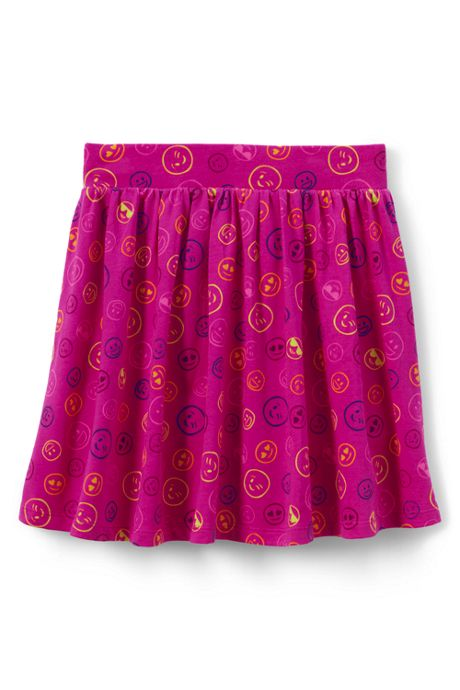 Girls Gathered Pattern Skort
