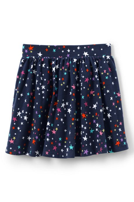 Girls Plus Gathered Pattern Skort