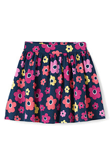 Girls' Patterned Jersey Skort