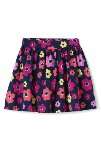 Toddler Girls' Patterned Jersey Skort