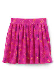 Little Girls Gathered Pattern Skort